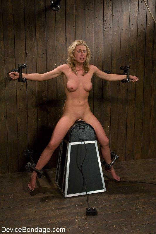 Ebony female robot made to orgasm - 3 part 8