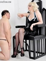 To be divine Domme Heathers whipping chap is a great honour and...