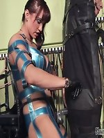 The slaves majority sensitive parts are tested out of leniency. The...