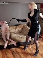 Taking a enormous whipping from Female-dominant Eleise is...