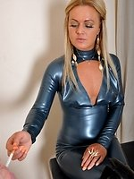 Mistresse Athenas serf needs to learn the meaning of collaring. A...