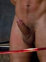 Spencer Reed and Van Darkholme dominate Dominic Pacifico in a Live...