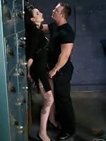 Harsh punishments including nipple clamps, pussy whipping and a...