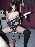 Slave groans are music to the ears of Mistress Lydia as she loves...