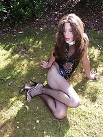 Tranny sluts gone for a walk with their nmistress and are punished...