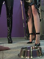 Mistress Kendra dishes out verbal punishment and Mistress Eden...