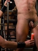 Josh West fucks Dylan Deap and Gianni Luca with his huge cock...