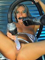 pornstar babe Lexi Love penetrated by huge Sci-Fi alien cock