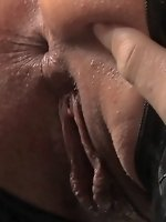 Hot Euro slut gets tied up and fucked for the first time