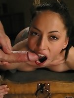 Veronica is gagged, flogged, suffers through nipple clamps with...