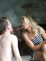 A dream will come true for a man with goddess Nicky