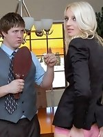 Flight attendant Adrienne Black spanked bare bottom for not...