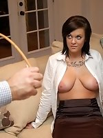 Find out what Sabrina Scott really thinks about shooting spanking...