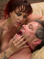 Mz Berlin, Wolf Hudson, Jimmy Broadway in All Night Cuckolding Fuck...