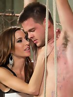Gia DiMarco, James Riker in New Meat Test Drive